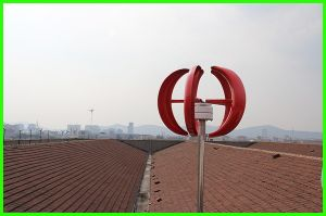 200W 12V/24Vのホーム使用のための水平の軸線の風発電機のタービン