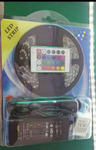 Tira de luz LED de 2,5 m Kit 60SMD 5050 infrarrojo del regulador 44key IP65