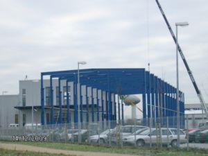 El bastidor de acero prefabricada estructura para la construcción del taller