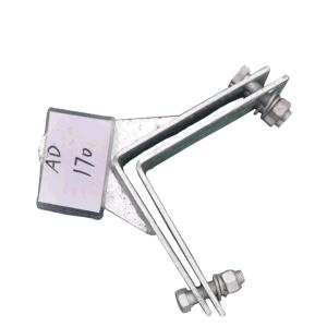 Conexiones de tubería de alimentación ADSS Abrazadera de cable de suspensión