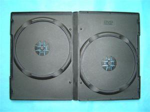 DVDカバーDVDボックスDVD箱14mm二重Rectangeの黒
