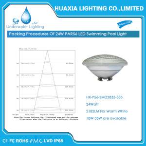 Indicatore luminoso subacqueo di IP68 12V 35W PAR56 LED della lampada impermeabile della piscina con telecomando