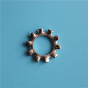 DIN M206797une dent externe en acier inoxydable de la rondelle de blocage