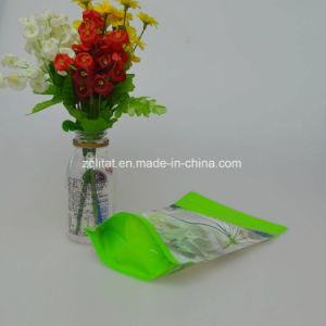 알루미늄 호일은 비닐 봉투를 위로 서 있다