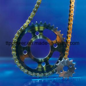 1045en acier inoxydable Pièces de moto Kit de pignon de chaîne de CG/Titan/Tmx/Italika
