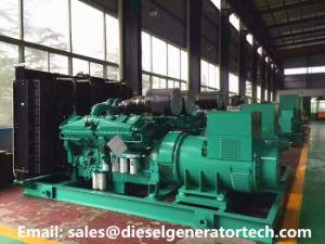 100KW/125KVA de Generator van de macht door de Dieselmotor die van Cummins wordt aangedreven