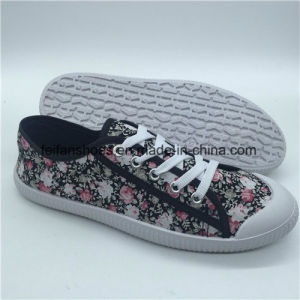 Hottest Lady chaussures en toile plate chaussures occasionnel (HP0315-1)