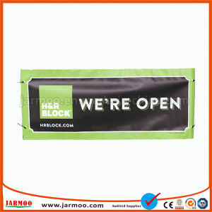 PVC 비닐 기치를 인쇄하는 로고를 광고하는 Jarmoo