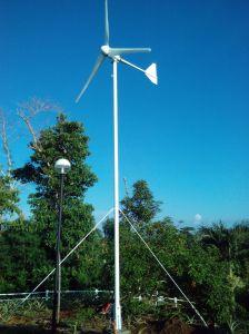Generator van de Macht van de Wind van Naier 2kw 48V/96V van de hoge Efficiency de Horizontale Zonne Hybride
