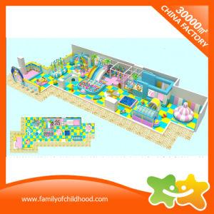 Apparatuur van de Speelplaats van het Vermaak van jonge geitjes de Zachte Binnen voor Verkoop