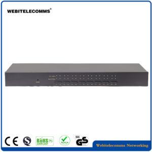 Switch KVM VGA de 16 portas