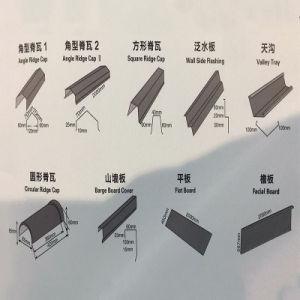 Matériau de construction de gros Shigles des matériaux de toiture feuille espagnol de tuiles