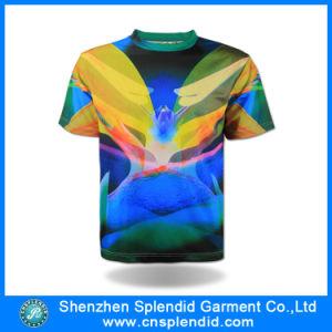 Maglietta variopinta del Raglan di promozione del Rotondo-Collo alla rinfusa della fabbrica della maglietta della Cina