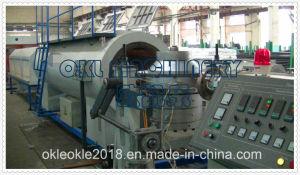 Linea di produzione di plastica della macchina per il tubo del rivestimento dell'Pre-Isolamento dell'HDPE