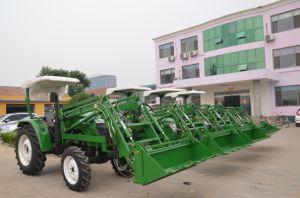 30HP, 40HP Tractor de met 4 wielen van de Aandrijving met de Lader van het VoorEind