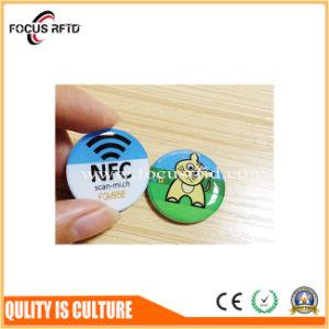Scheda su ordinazione del PVC RFID di formato con il punzone di foro e numero di serie per l'insieme dei membri
