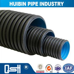 大口径の構築のポリエチレンのHDPEのDwcの二重壁の波形の管