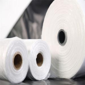 LDPE/HDPE 쓰레기통을%s 백색 플라스틱 쓰레기 봉지 또는 쓰레기 봉지