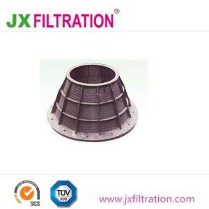 Cestino di disidratazione centrifugo degli schermi per filtrare