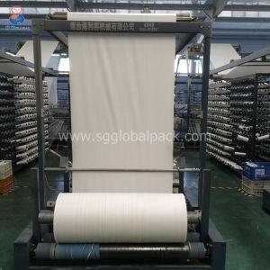 Kundenspezifisches weißes pp. gesponnenes Gewebe des Gefäß-60GSM