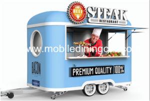 Популярные многофункциональные мини питание прицепа / Fast Food тележки / Стрит продовольственной торговые автоматы Ван