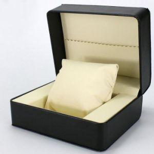 Lujo personalizado de cuero de PU Ver Cuadro, personalizar la caja de regalo reloj de lujo Mens cajas de cuero de PU