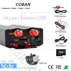 GPS Tracker GSM para el sistema de rastreo de vehículos Tk103A Cobán rastreador de GPS para coche con motor se detiene de forma remota