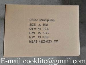 Bomba manual para extraer aceite Con Palanca / Bomba extractora de palanca para aceite diesel de petróleo de Tambo