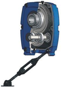 Scatola ingranaggi di velocità del riduttore del supporto dell'asta cilindrica di Fixedstar Smr