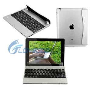 Geval van het Toetsenbord Bluetooth van het Ontwerp van de luxe het Mini untra-Dunne Draadloze met Touchpad voor iPad5
