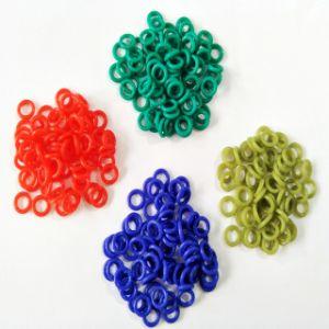 Resistência a altas temperaturas de cor o anel de vedação de borracha personalizada