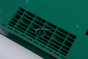Paletes de plástico durável de tamanho padrão para a bandeja /Industrial