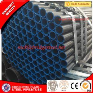 Prezzo d'acciaio del tubo del acciaio al carbonio dell'oleodotto della vernice nera di ASTM A53 Gr B S235jr ERW per tonnellata