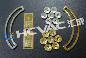 Metallizzazione sotto vuoto di PVD che metallizza macchina per gli accessori dell'indumento (tasto)