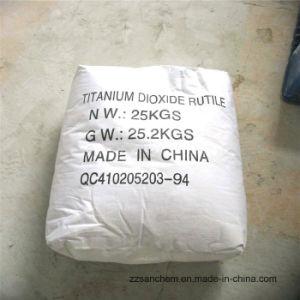 Rutiel van het Dioxyde van het Titanium van de Rang van het Document van de Inkt van de verf het Textiel
