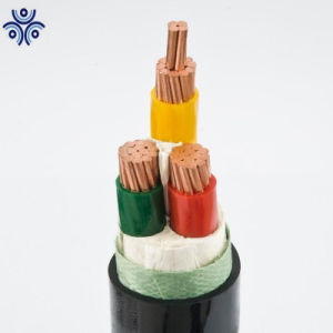 3 Core Insualted PVC Felxible Fio de cobre com certificação CE