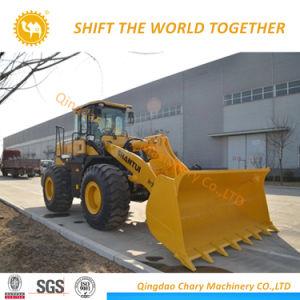 5ton de lange Lader SL56h van het Wiel van de Lader Shantui van het Wapen Chinese Voor voor Verkoop