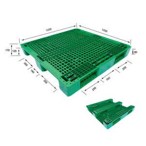 3 Calhas de Grid Rack barata de HDPE/PP paletes de plástico para a indústria