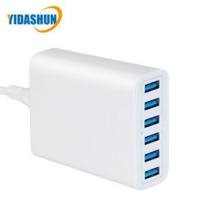 5V 12A 60W 6 дорожное зарядное устройство USB порт USB зарядной станции нескольких зарядное устройство USB