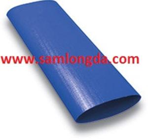 潅漑(LF10)のための青いPVC Layflat排出のホース