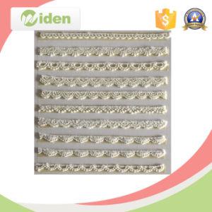 Directo de fábrica de algodón barato cordón del bordado de la escala por un mayorista