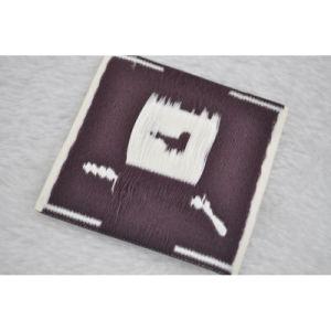 La fabricación de fábrica de ropa personalizada etiqueta tejida