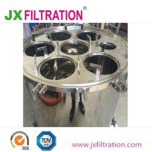 Filtro de manga de aço inoxidável para tratamento de água