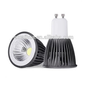 5W Dimmable COB GU10 LED Spotlight