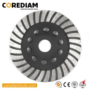 115mm Copa Moagem Turbo Esmeris/Rodas/roda de Diamante