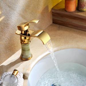 金カラー浴室の洗浄コック(SD-L-004B)