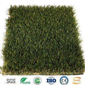 Preiswerter Preis-künstlicher Garten-synthetisches Gras für Garten-Hinterhof