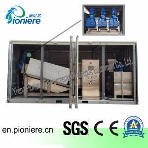 Het Ontwaterende Systeem van de Modder van het Type van schroef voor One-Stop Post van de Behandeling van afvalwater