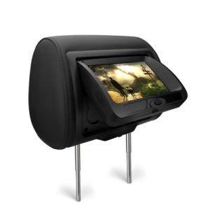 대중적인 7  /9의  인치 TFT LCD 지퍼 까만 베이지색 또는 회색 머리 받침 DVD 플레이어