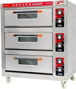 Roestvrij staal dkl-90 3 Dek 9 van Astar Oven van het Baksel van het Dek van Dienbladen de Elektrische voor de Apparatuur van de Bakkerij, Goedgekeurd Ce